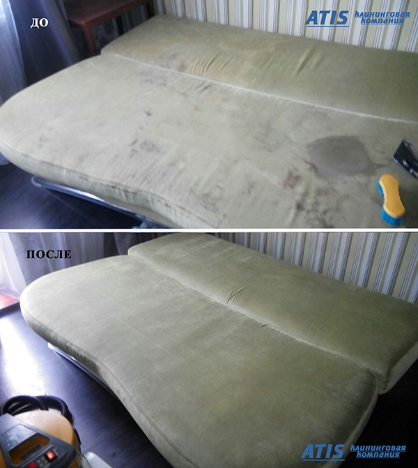 чистка мягкой мебели Домодедово цена